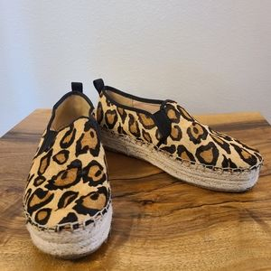 Sam Edelman Carrin Leopard Print Espadrille Shoes